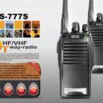 Potência de saída:<5W Alcance de frequência: 400-470MHz. 16 Canais